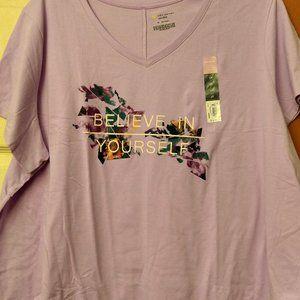 Believe In Yourself Short Sleeve Shirt 3X